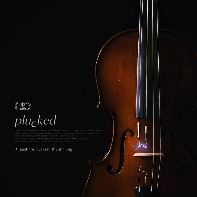 Stradivari elrablásáról forgattak filmet